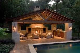House Plans With Pools And Outdoor Kitchens Pool House Contemporary Patio Contemporary Patio Pool