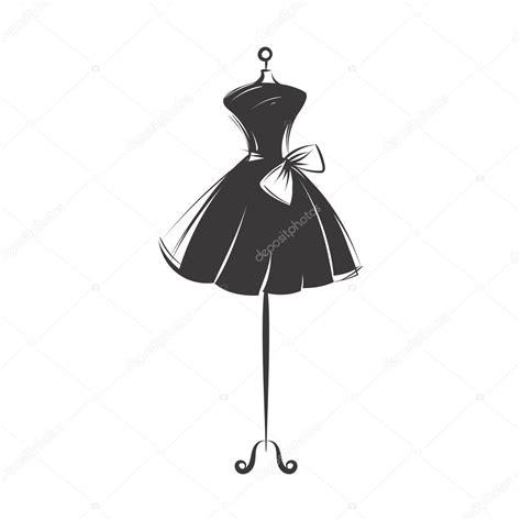 robe de mannequin main dessin illustration vecteur