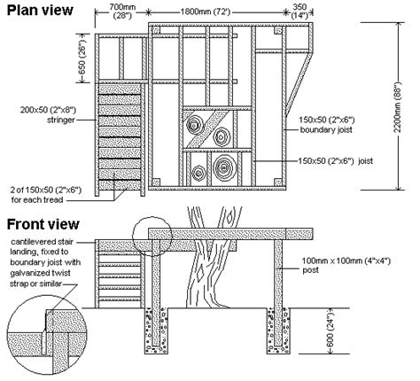 blueprints to build a house woodwork diy treehouse plans pdf plans