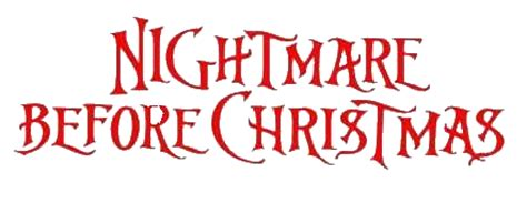Remove Stickers From Wall image nightmare before christmas logo png caw