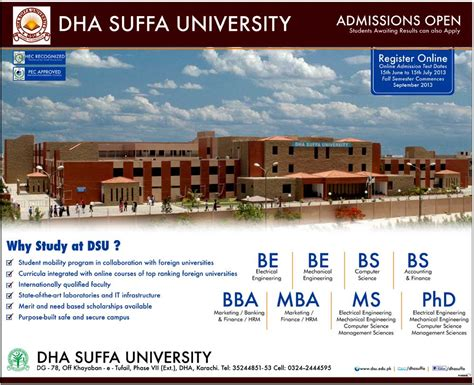 Mississippi State Mba Admissions by Dha Suffa Bs Be Bba Mba Ms Phd Admissions 2017