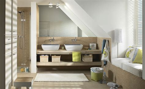 bade design badezimmer mit dachschr 228 ge