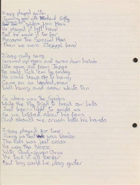 lyrics bowie 11 1 16 david bowie 8th january 1947 10th january