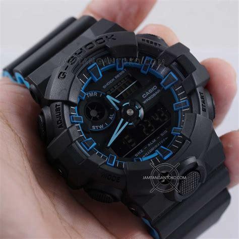 G Shock Ga 700 Hitam harga sarap jam tangan g shock ga 700se 1a2 neon hitam biru