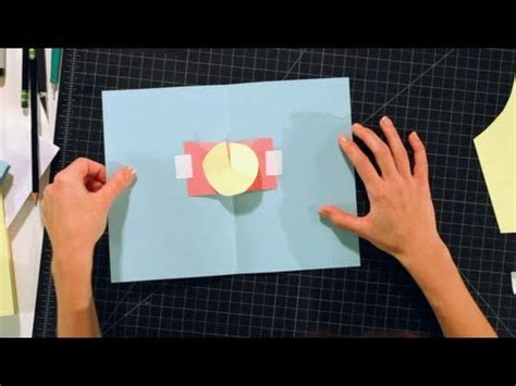 how to make something pop out of a card how to make a rotator pop up cards