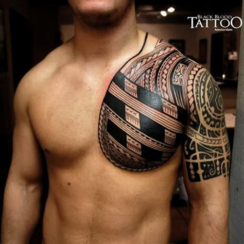 samoan chest piece arm piece is from someone else free h