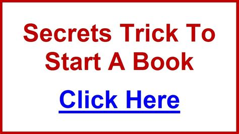 how to start a picture book how to start a book secret trick to finish your book