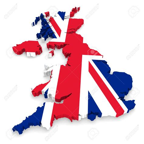 United Kingdom Outline Flag by Map United Kingdom Clipart Bbcpersian7 Collections