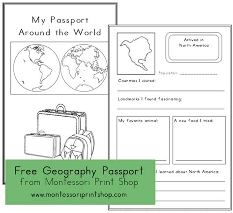 pretend passport template pin printable passport craft on