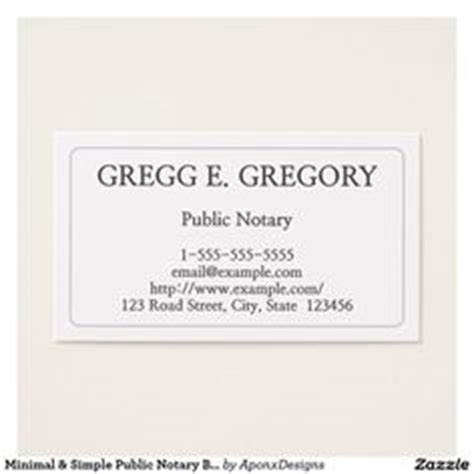 free notary business card templates power of attorney letter for child care templates