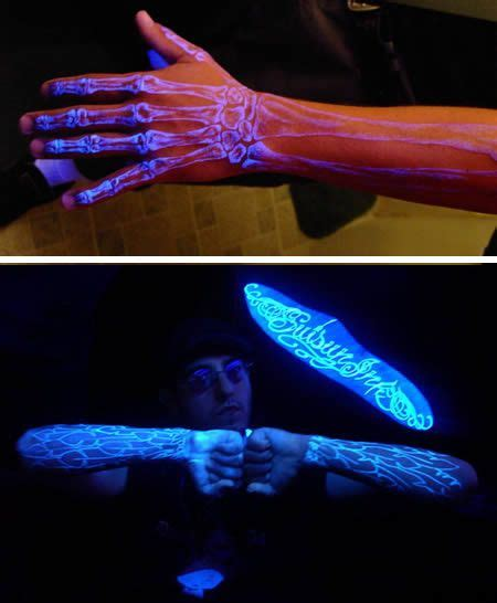 fluorescent tattoo 25 best ideas about strange tattoos on