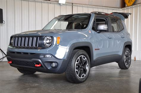 gray jeep renegade jeep renegade the truth about cars