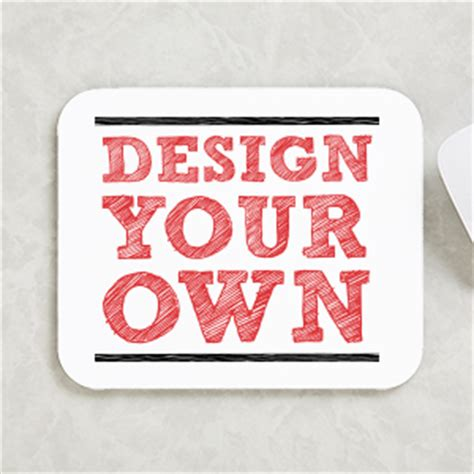 design your own custom mouse pad