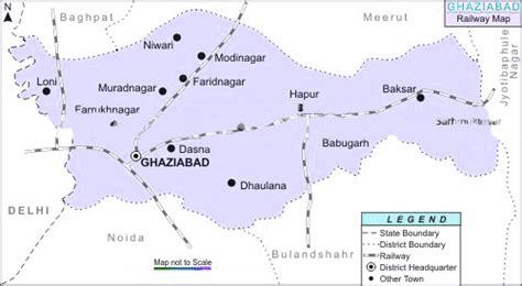 ghaziabad in india map rail map india ghaziabad railway map