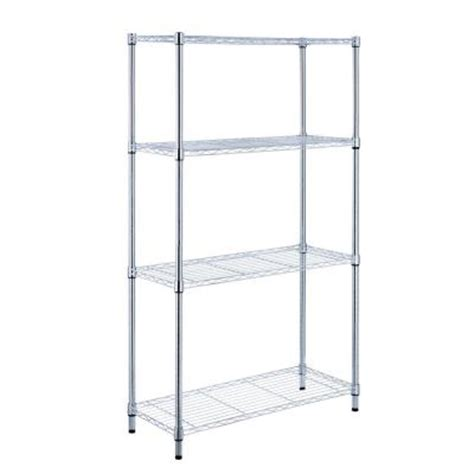 hdx shelving replacement parts hdx 4 shelf 36 in w x 14 in l x 54 in h storage unit