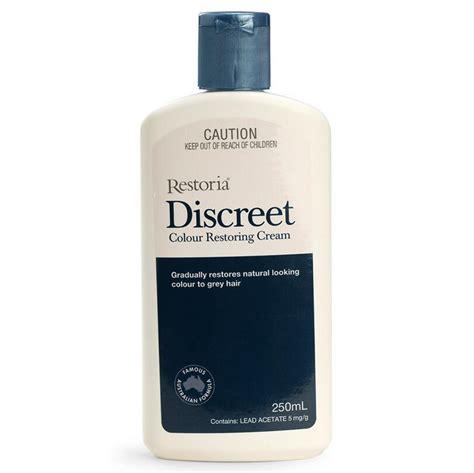 Restoria Discreet Color Restoring new original restoria discreet colour restoring lotion hair care 250ml reduce grey hair