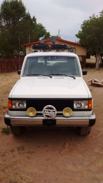 cool ls for sale 1989 isuzu trooper ls 4x4 manual v6 rust free nm truck