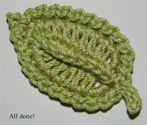 crochet pattern large leaf crocheted leaf free crochet pattern crazy cool crochet