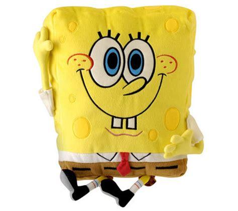 Spongebob Pillow by Spongebob Waving Plush Pillow Qvc