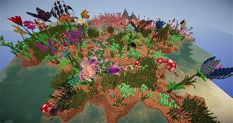 How To Create A Flower Garden Flower Garden Biome Minecraft Project