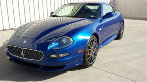 motor auto repair manual 2006 maserati gransport seat position control buy used 2006 maserati gransport coupe 4 2l blue black every service complete stunning in