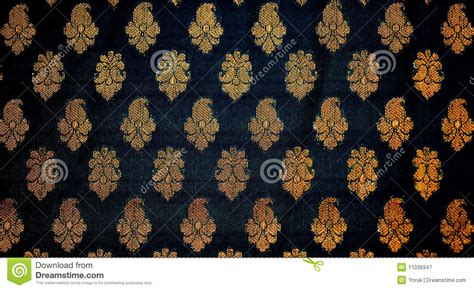 traditional pattern photography fabric with traditional indian design royalty free stock