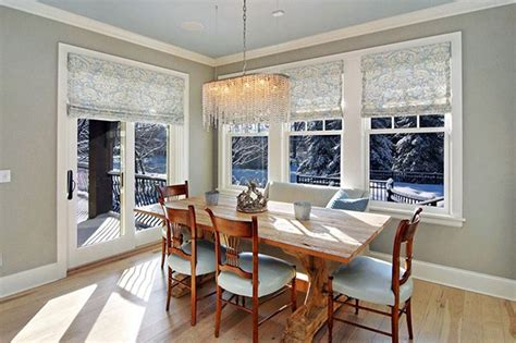 dining room window ideas 20 dining room window treatment ideas home design lover