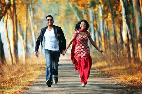 Wapking Pajabe Weeding Picture by Couples Punjabi Wedding Couples Casual Pictures Pre Post