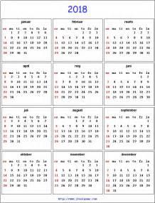 Kalender 2018 Norge 2018 Calendar Printable Calendar 2018 Calendar In