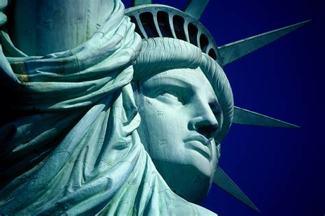 what color is the statue of liberty research shows that the iconic green statue of liberty was