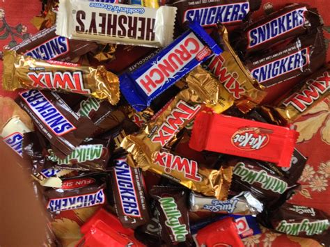 top candy bars halloween candy