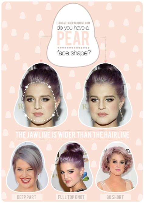 hairstyles for pear shaped face the beauty department your daily dose of pretty hair