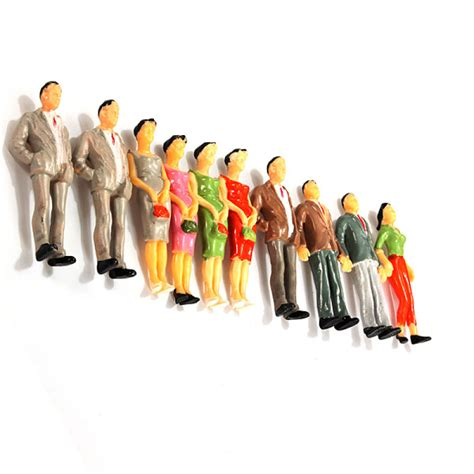 Toys Planning Painted Figures buy 20pcs building model railroad passenger painted figures rcnhobby