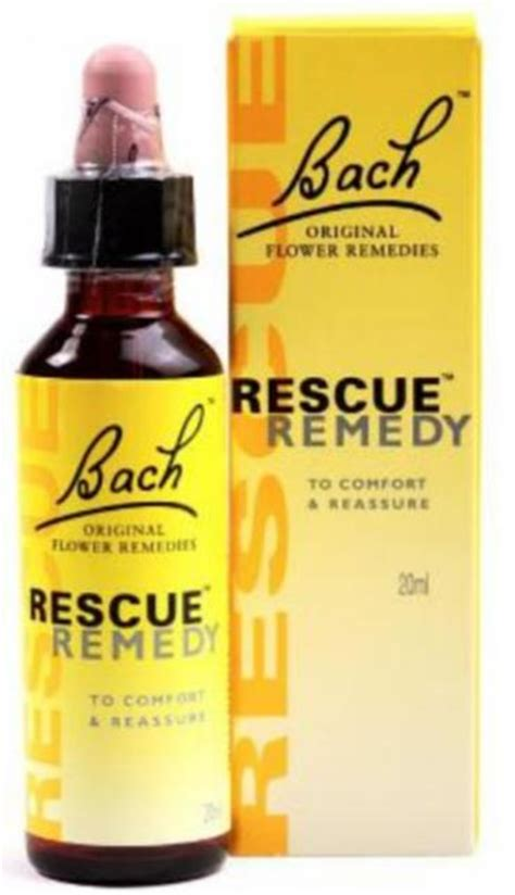 rescue remedy fiori di bach prezzo rescue remedy 20 ml bach original flower remedies loacker