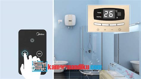 pemanas air water heater midea terbaru cocok untuk rumah