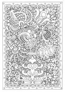 coloring pages intricate flowers 301 moved permanently