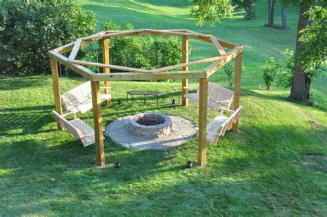 Build Your Own Fire Pit Swing Set Page 1 Firepit Swing