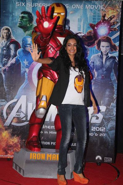 sarah jane dias avengers celebs at avengers premiere and other b wood events