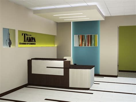 designer reception desk small area furniture office reception design ideas modern
