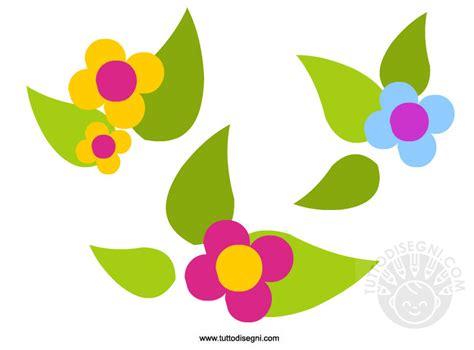 fiori disegni colorati primavera fiori colorati tuttodisegni