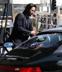 Keanu Reeves Hit Somebody With His Porsche angelofberlin2000 keanu and forlani at the