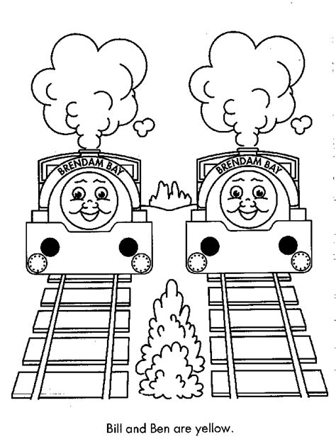 free thomas the train coloring pages coloring home