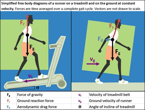 treadmill diagram running the numbers how much easier are treadmills
