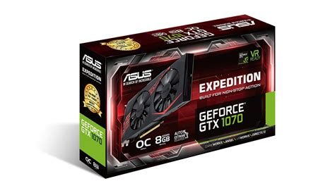 Vga Nvidia Geforce Asus Gtx 1070 Dual Oc 8gb asus launches geforce gtx 1070 expedition oc videocardz