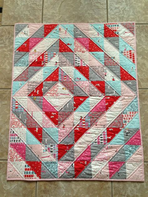 Half Triangle Quilts by Half Square Triangle Quilt Quilting