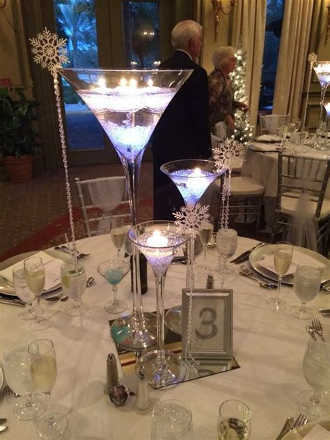 17 best ideas about martini centerpiece on