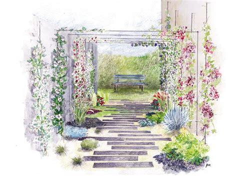 Attrayant Amenager Un Petit Jardin En Longueur #1: 23a0ddc1b2e8f00385a76c048cf9bebb.jpg