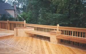 cedar deck bench pdf cedar deck bench planter plans free