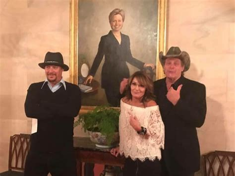 kid rock oval office donald trump invites kid rock ted nugent and sarah palin