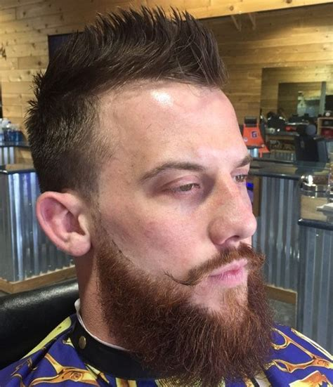 Beard Styles With Fauxhawk | the 40 hottest faux hawk haircuts for men